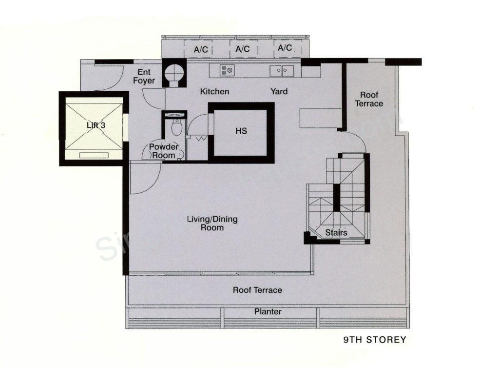 Balmoral Crest 3 1 Penthouse 5 800 Singapore