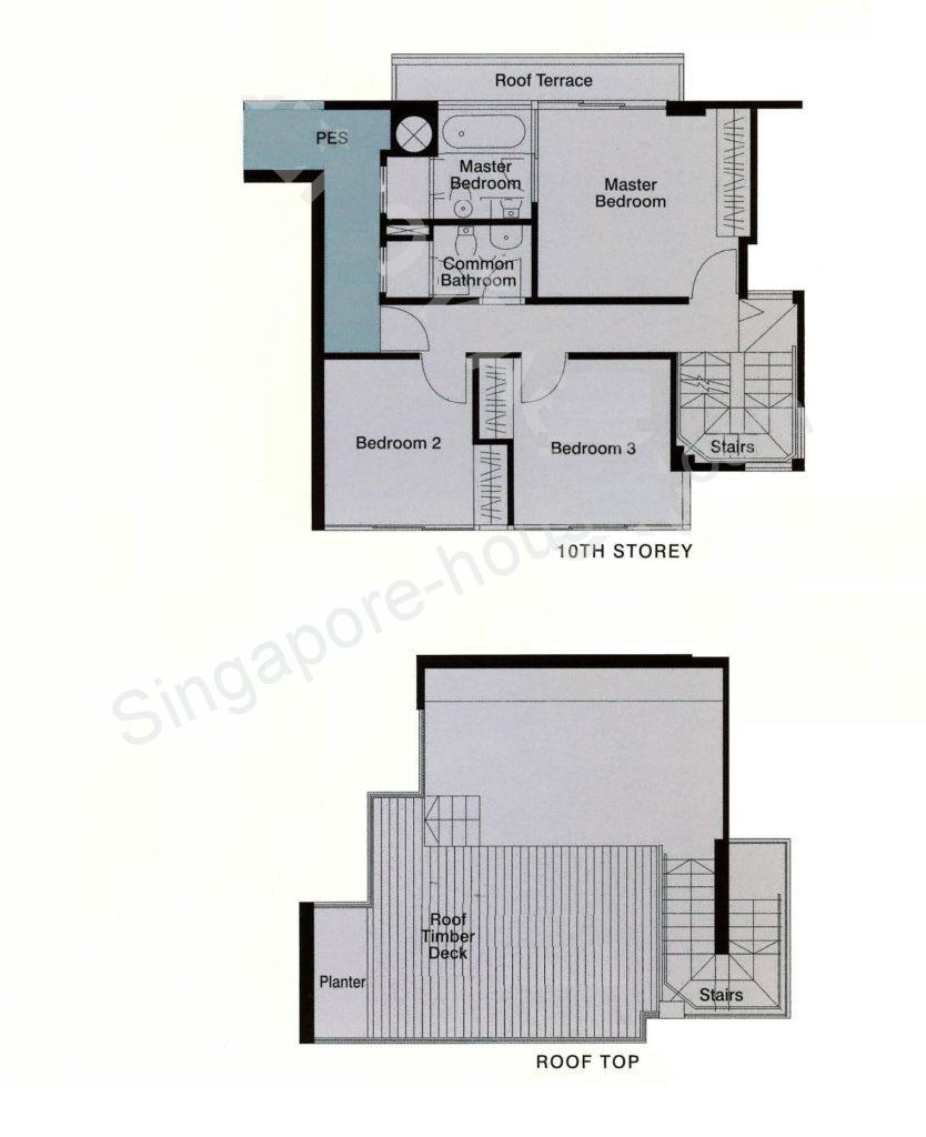 Floor Plan #09-03 2271sf 2