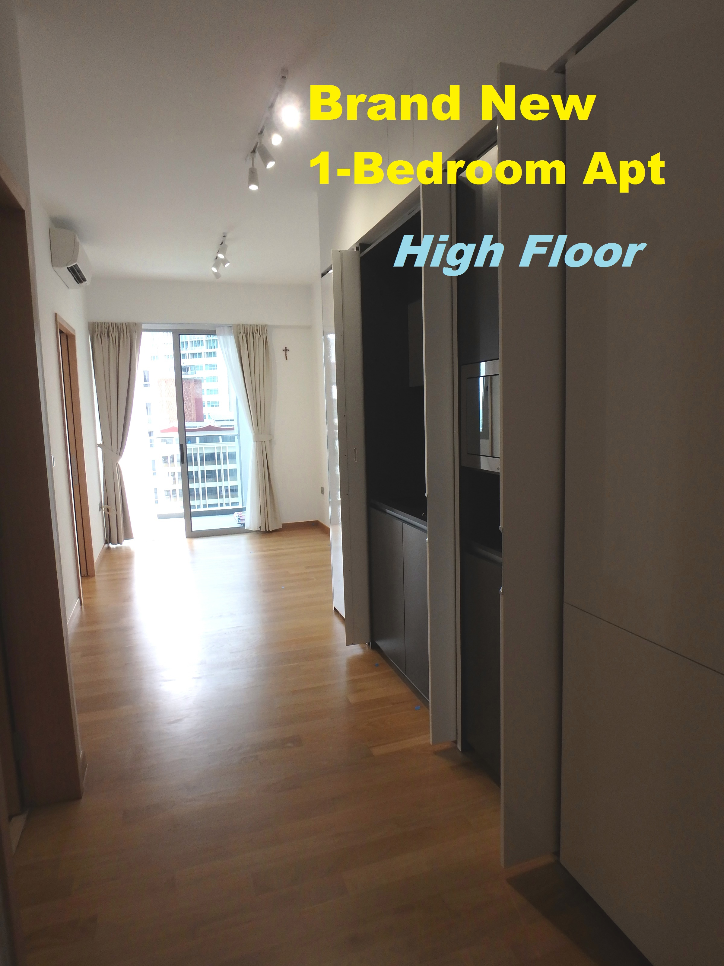 Brand New Modern 1 Bedroom Apartment Near Orchard Road And Novena Area Comfortable 484sf Size With Efficient Layout Ious Which Is Enough